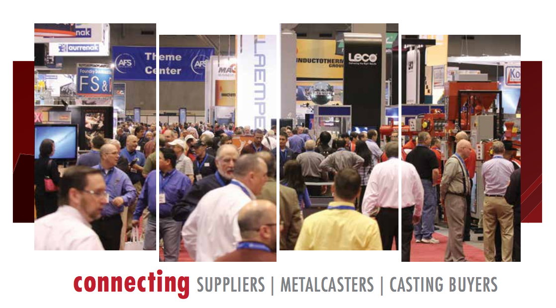 BCT will attend American Foundry Society's CastExpo in Minneapolis, MN April 2016