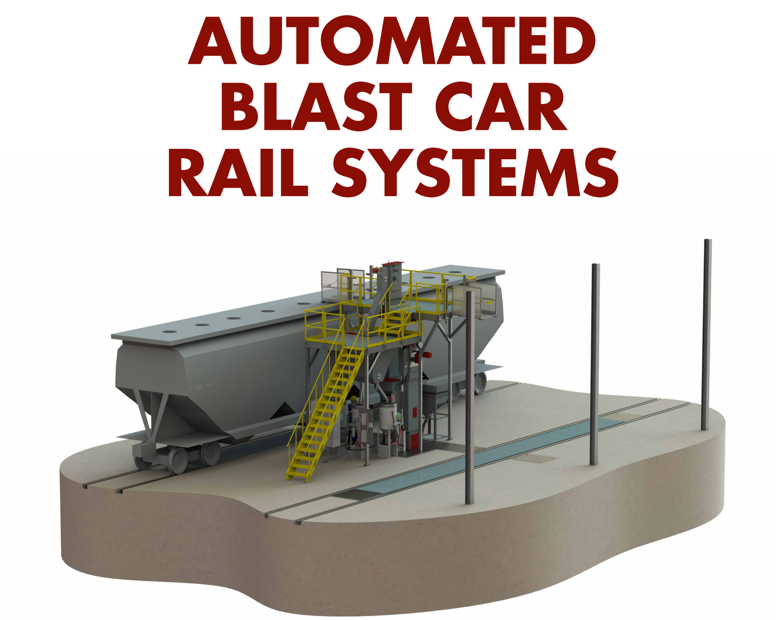 Automated Blast Systems for Railcars at the Railway Interchange - Blast Cleaning technologies