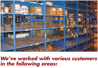 We've Worked with various customers and industries