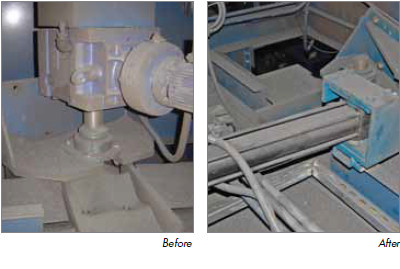 Hydraulic Conversion Before After