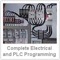 Complete Electrical and PLC Programming